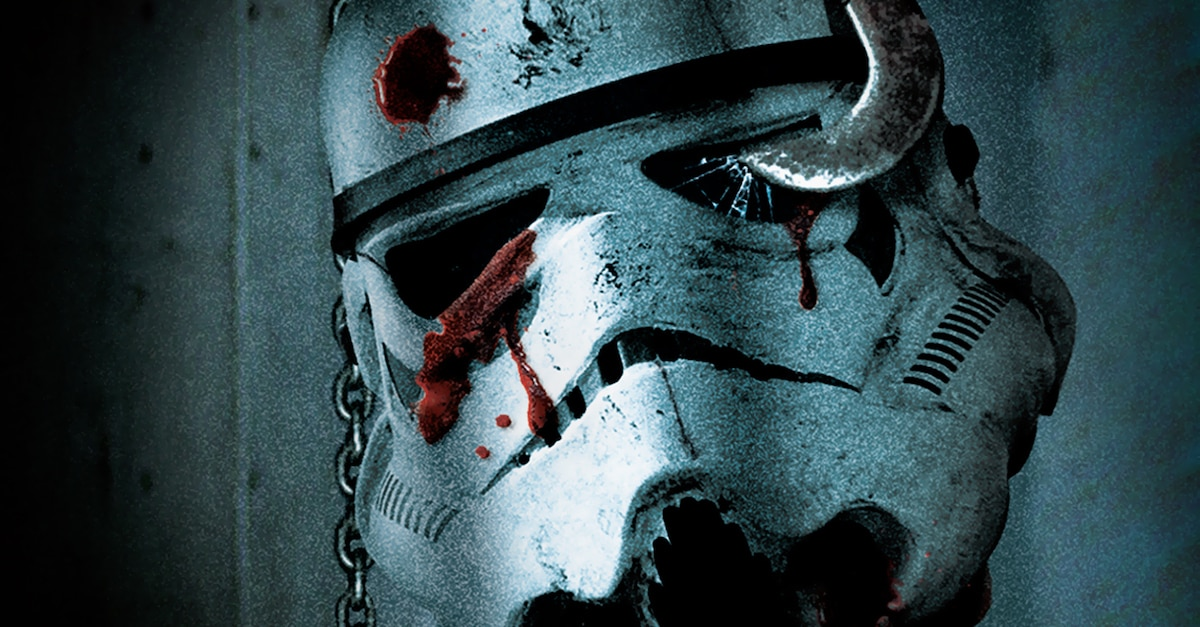 Deathtroopersstarwarsbanner - Alternate STAR WARS Posters Get Mashed With Iconic Horror Movies