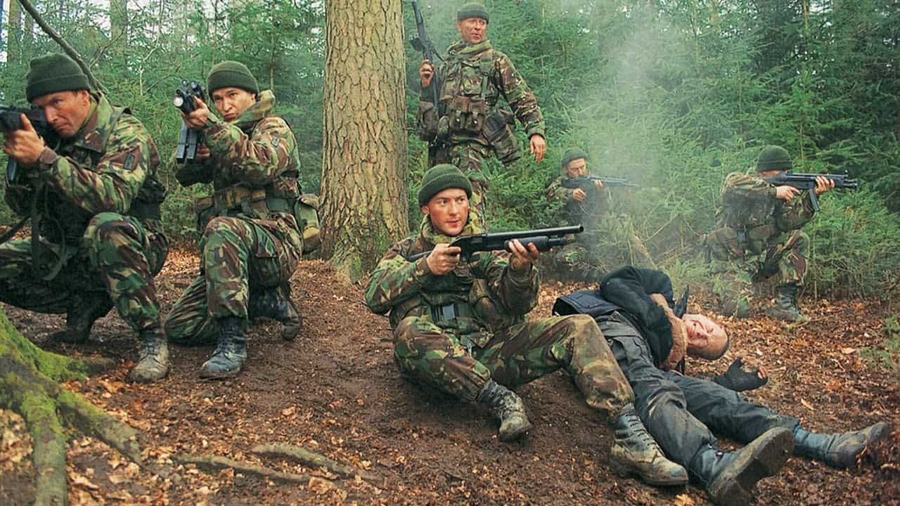 DogSoldiers - Gender Bashing: What it Means to Be a Man in DOG SOLDIERS