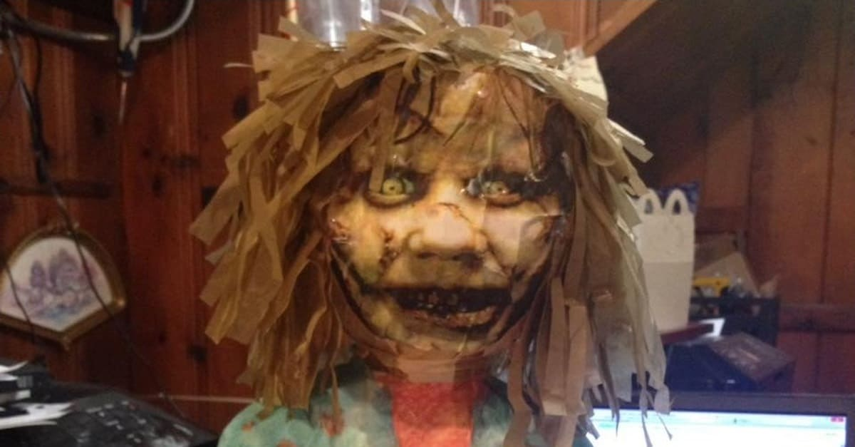 Exorcist Piñata Banner - Horror-Themed Piñatas from HANG ME Will Make Your Next Party a Smash