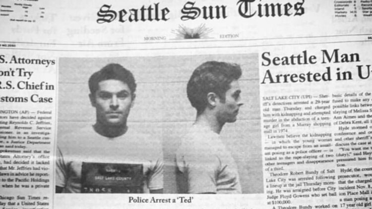 Extremely Wicked Shockingly Evil and Vile Efron Banner 3 750x422 - Ted Bundy Biopic EXTREMELY WICKED, SHOCKINGLY EVIL AND VILE Scores R-Rating for Sex & Violence