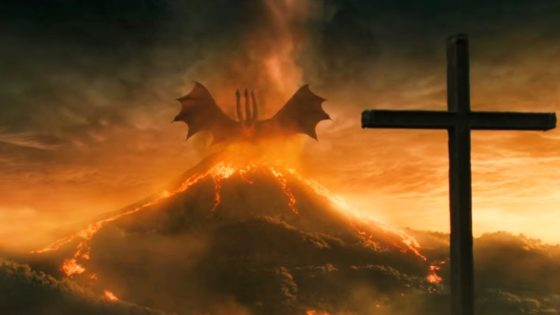 Ghidora Banner from Godzilla King of the Monsters 560x315 - Michael Dougherty Promises Deleted Scenes on GODZILLA: KING OF THE MONSTERS Blu-ray/DVD