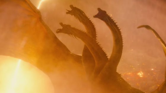 Godzilla King of the Monsters Ghidorah 1 560x315 - GODZILLA: KING OF THE MONSTERS Director Talks Humanizing King Ghidorah