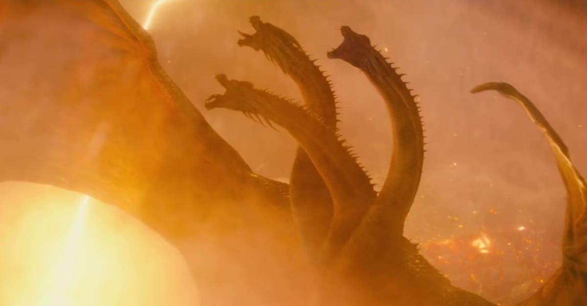 Godzilla King of the Monsters Ghidorah 1 - GODZILLA: KING OF THE MONSTERS Director Talks Humanizing King Ghidorah