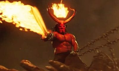 Hellboy 2019 Banner 400x240 - Mike Mignola and HELLBOY Stars Talk Bringing the Comic to Life in New Featurette