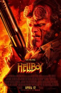 Hellboy 2019 Poster 197x300 - In HELLBOY David Harbour Displays a Unique Feature Never Before Seen in Film