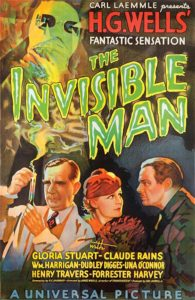 Invisible Man 1931 Poster 195x300 - Blumhouse's INVISIBLE MAN Remake Sets Sights on Elizabeth Moss