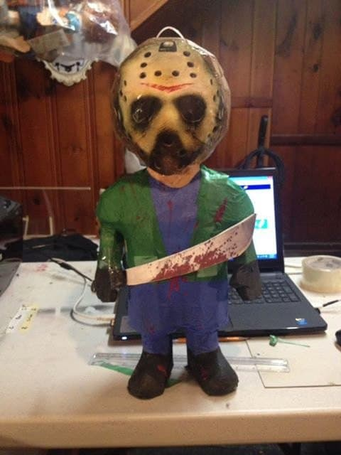 Jason Piñata - Horror-Themed Piñatas from HANG ME Will Make Your Next Party a Smash