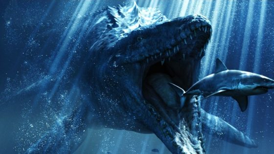 Jurassic World Banner 560x315 - Universal Studios Hollywood Goes Underwater for JURASSIC WORLD Ride