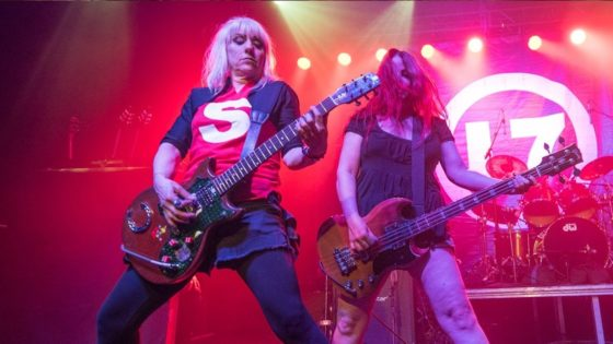 L7 Banner 2 560x315 - Pretend They're Dead? Never! L7 Announces Tour for First Album in 20 Years