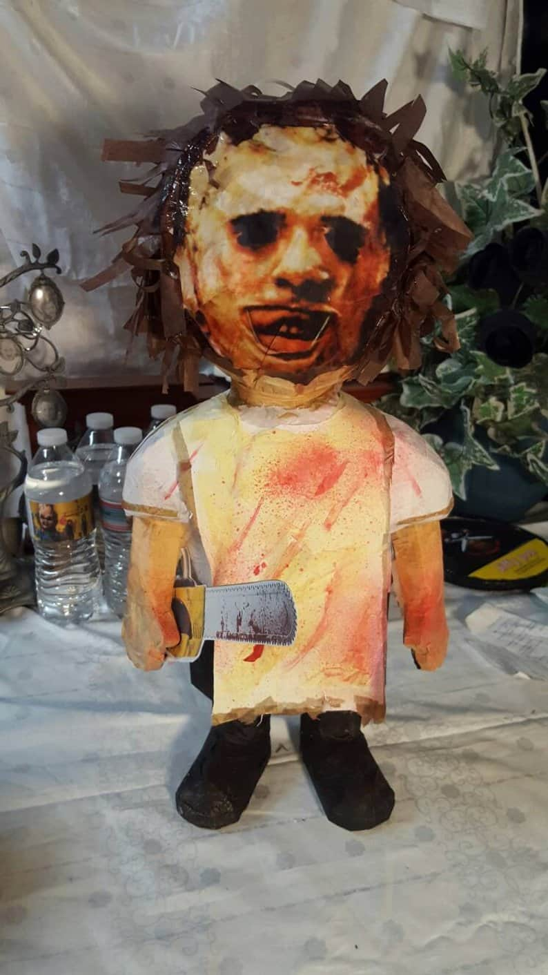 Leatherface Piñata - Horror-Themed Piñatas from HANG ME Will Make Your Next Party a Smash