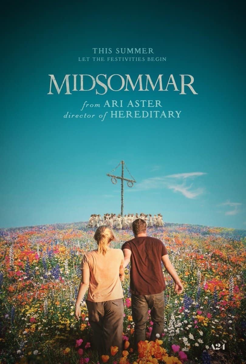 MIDSOMMER poster A24 - The Festivities Begin in First Trailer for Ari Aster's MIDSOMMAR