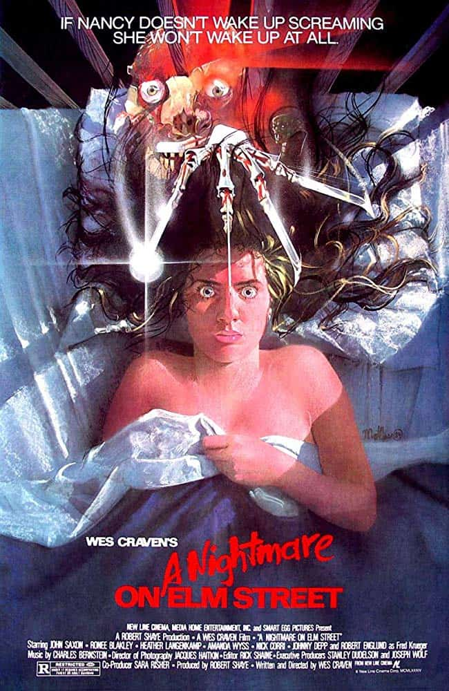 Nightmare on Elm Street 1984 Poster - Video: Someone Edited All of the Characters Out of A NIGHTMARE ON ELM STREET--And It's Still Freakin' Scary!