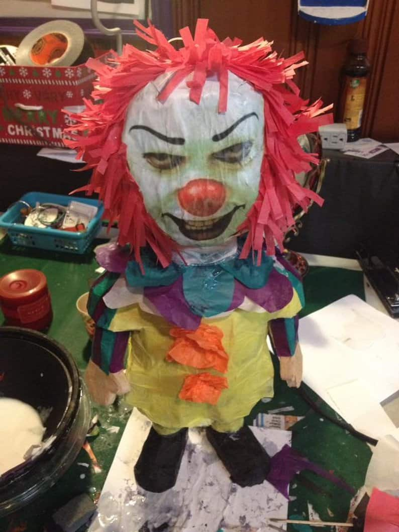 Pennywise Piñata - Horror-Themed Piñatas from HANG ME Will Make Your Next Party a Smash