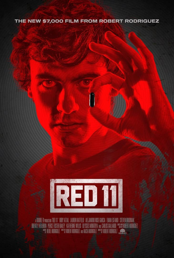 Red 11 Poster - Poster for Robert Rodriguez's RED 11 Drops in Advance of SXSW Premiere