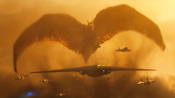 Rodan Banner 560x315 - New Kaiju Mayhem Unleashed in Latest TV Spot for GODZILLA: KING OF THE MONSTERS + Breakdown