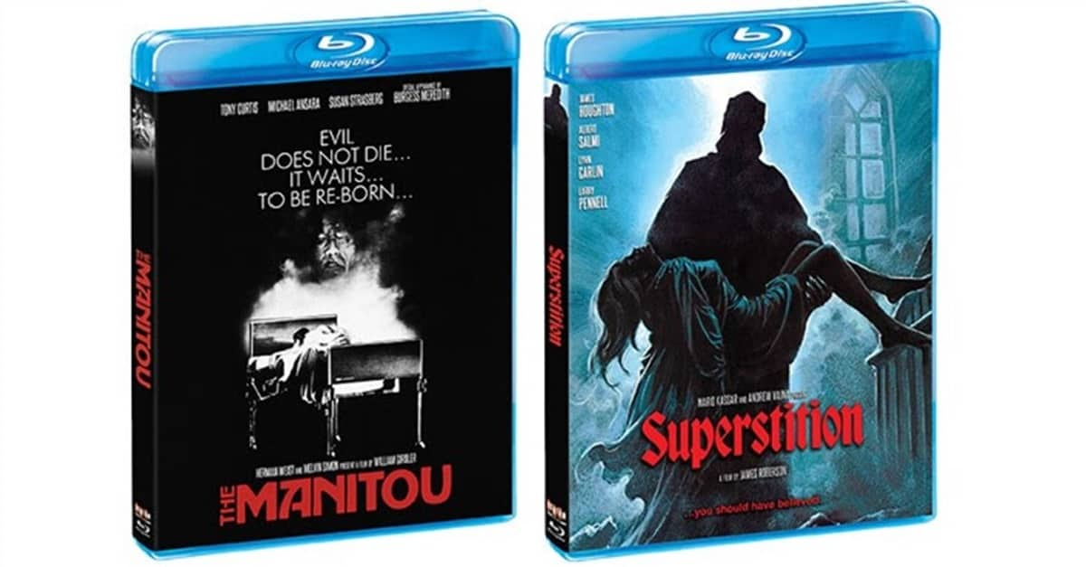 Scream Factory April 2019 Releases - Scream Factory's April Slate Includes THE MANITOU and SUPERSTITION
