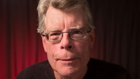 Stephen King Banner 560x315 - 20 Years Later, Stephen King Reflects on the Day He Almost Died