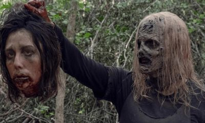 """TWD S9 Alpha 400x240 - The Kingdom Prepares to Clash with Whisperers in Clip from Sunday's THE WALKING DEAD """"Chokepoint"""""""