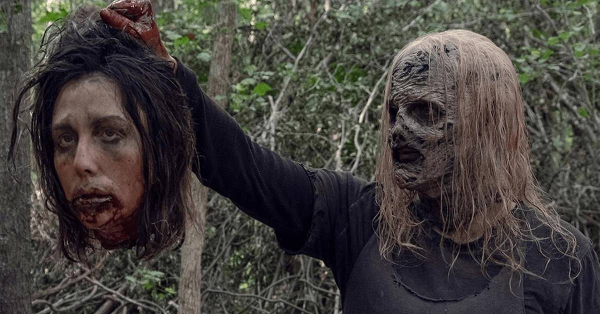 """TWD S9 Alpha - The Kingdom Prepares to Clash with Whisperers in Clip from Sunday's THE WALKING DEAD """"Chokepoint"""""""