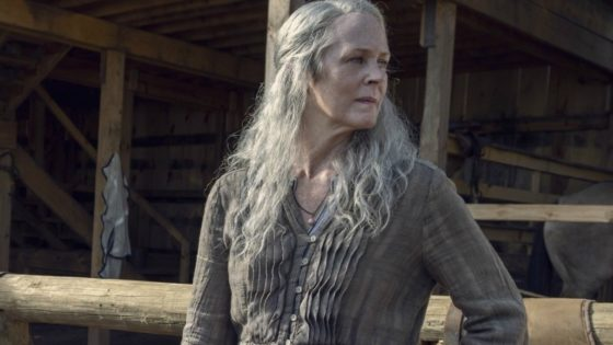TWD S9 Carol 560x315 - Clip from Sunday's Season Finale of THE WALKING DEAD Hints at Carol's Return to the Dark Side
