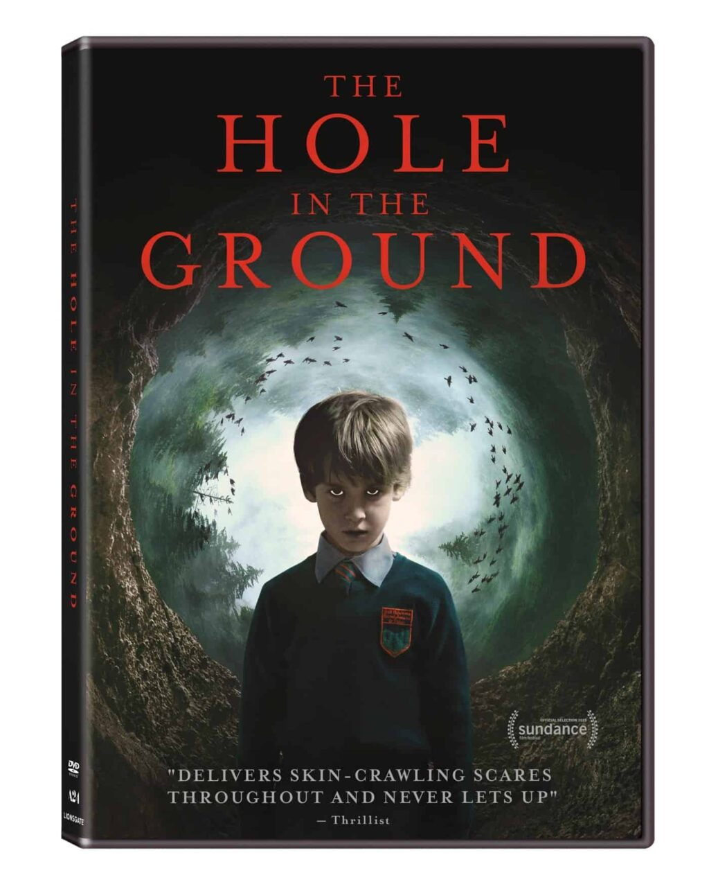 The Hole in the Ground DVD 1024x1286 - A24 & Lionsgate Invite You to Crawl into THE HOLE IN THE GROUND on DVD This April