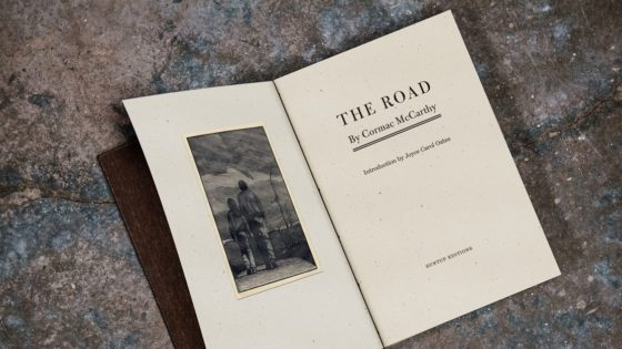 The Road Banner 560x315 - Suntup Editions Publishing Stunning Limited Release of Apocalyptic Horror THE ROAD