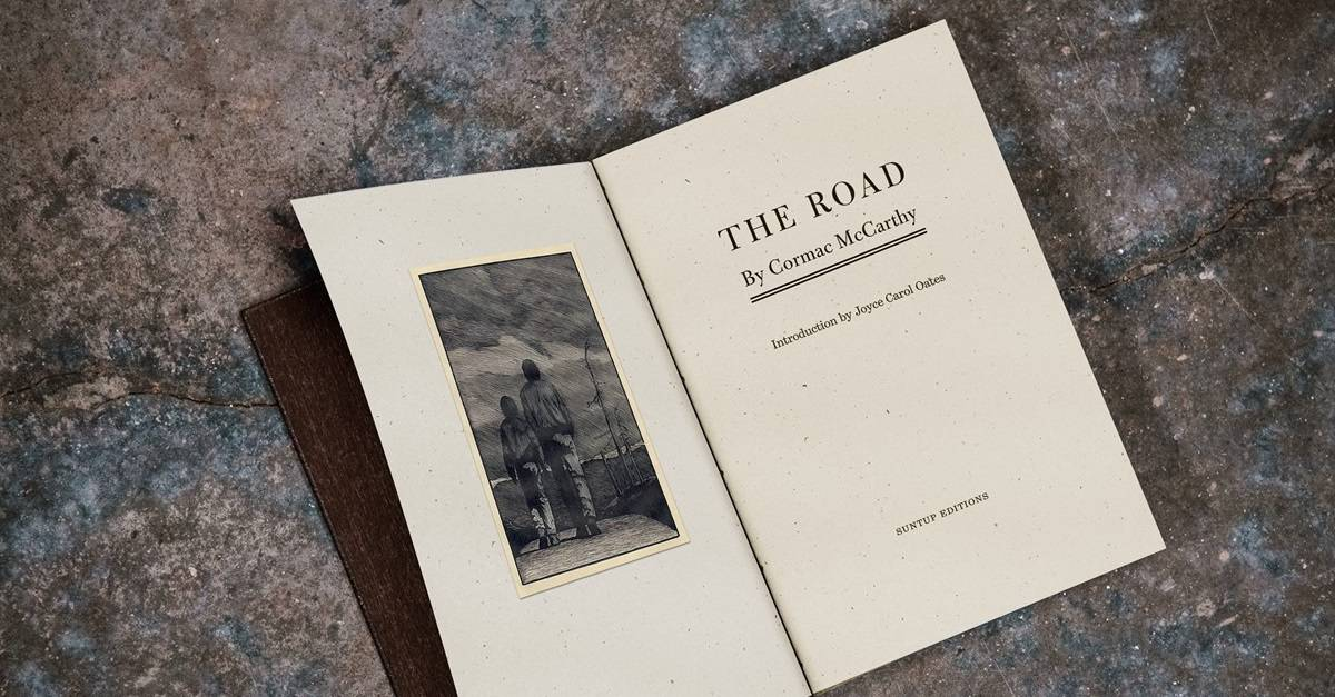 The Road Banner - Suntup Editions Publishing Stunning Limited Release of Apocalyptic Horror THE ROAD