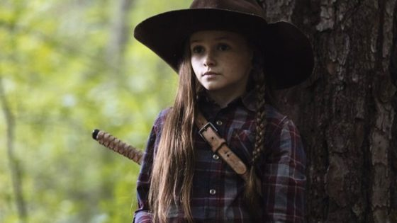 """The Walking Dead Judith Grimes Banner 560x315 - Preview of Sunday's THE WALKING DEAD Asks """"What Would Rick Grimes Do?"""""""