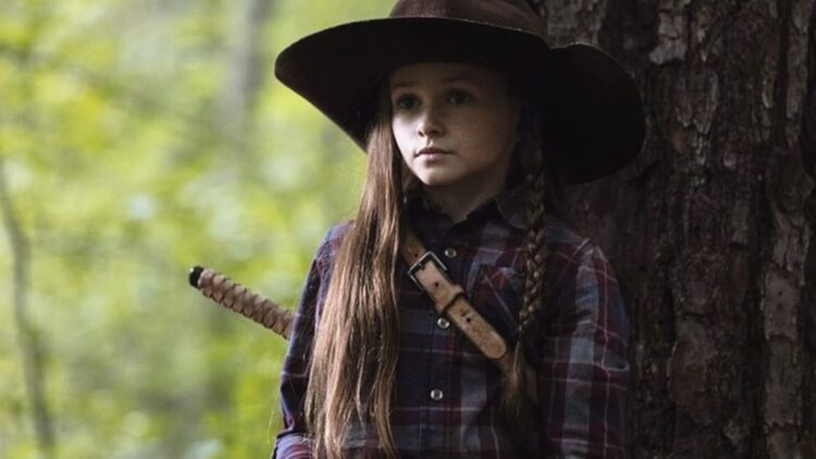 """The Walking Dead Judith Grimes Banner 750x422 - Preview of Sunday's THE WALKING DEAD Asks """"What Would Rick Grimes Do?"""""""