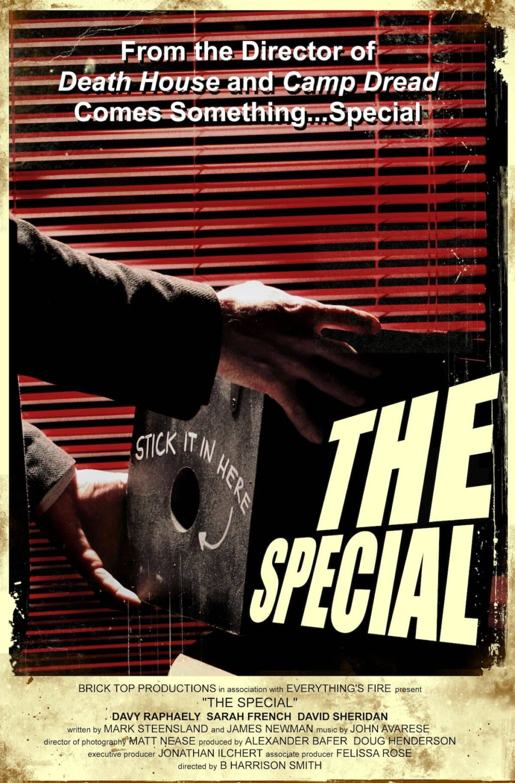 TheSpecial Poster Style D 2019 1024x1555 - Exclusive THE SPECIAL Poster Hearkens Back to Classic Movie Adverts