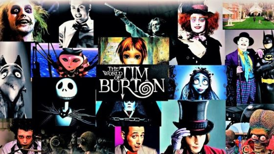 "Tim Burton Movies Banner 560x315 - Screen Junkies Tackle Every Tim Burton Movie in Epic ""Honest Trailer"""