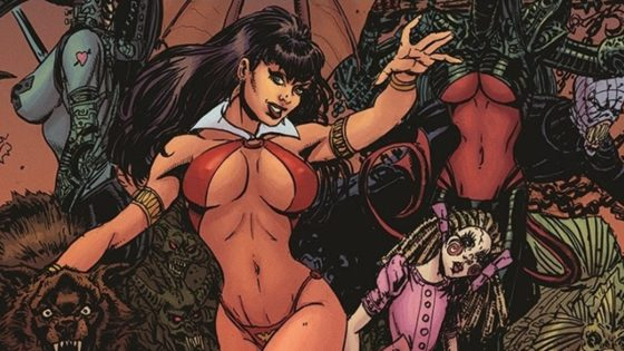 Vampirella 0 banner 560x315 - Dynamite and Playboy Team Up for VAMPIRELLA 50th Anniversary Story