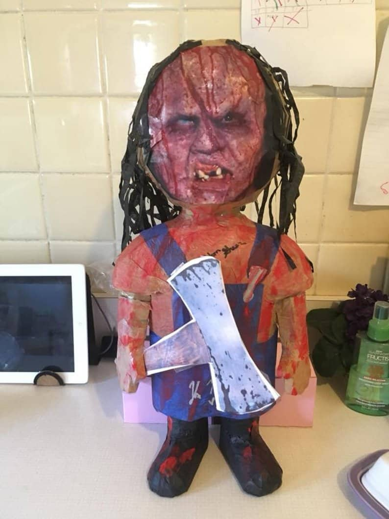 Victor Piñata - Horror-Themed Piñatas from HANG ME Will Make Your Next Party a Smash
