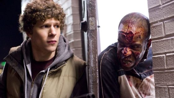 Zombieland Eisenberg Banner 560x315 - Jesse Eisenberg Gives Update on ZOMBIELAND: DOUBLE TAP from SXSW