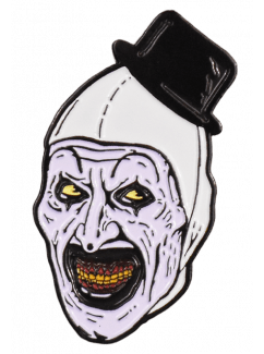 """arttheclown enamelpin - Official TERRIFIER/Art the Clown Mask & Costume Available for Pre Order + Enamel Pin & """"Scare Freshener"""" Available Now!"""