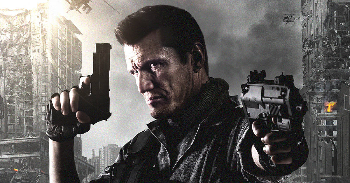 deadtriggerbanner - Dolph Lundgren Looks Like an Elderly Max Payne in This Exclusive DEAD TRIGGER Poster