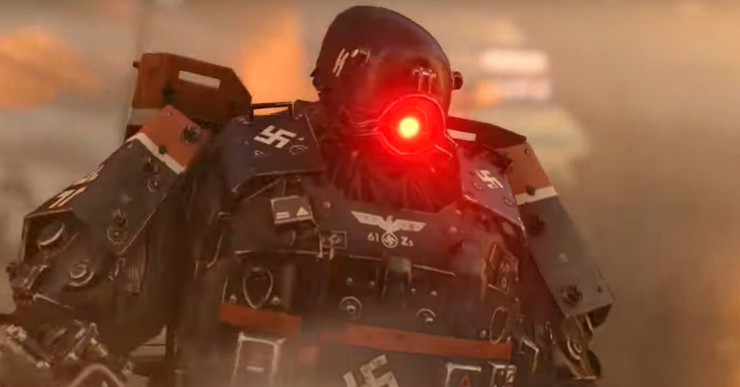 CARPENTER BRUT Rocks The HELL Out of the New WOLFENSTEIN
