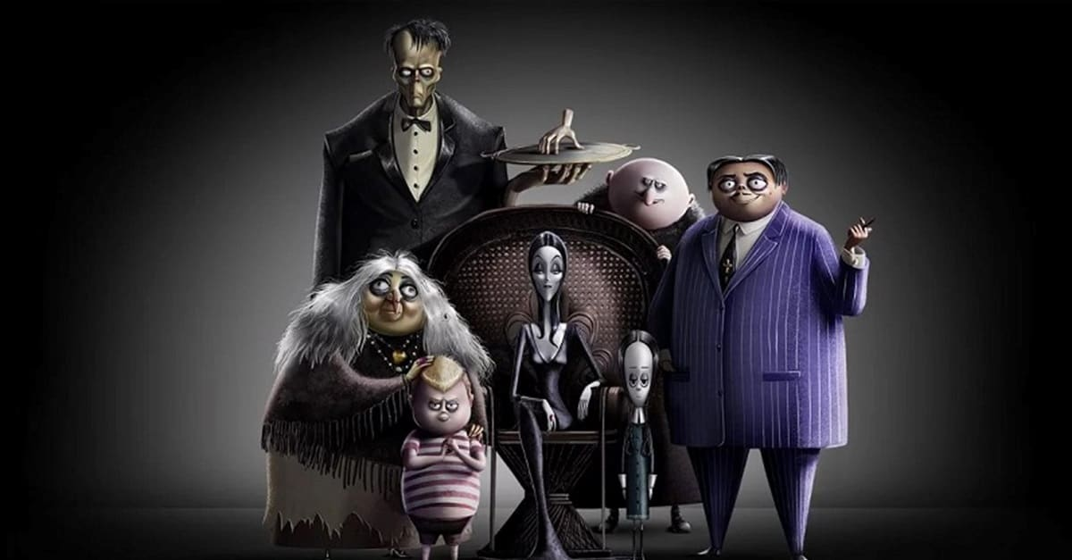 Addams Family Banner - Trailer: Latest Look at Animated THE ADDAMS FAMILY Movie is All About Wednesday