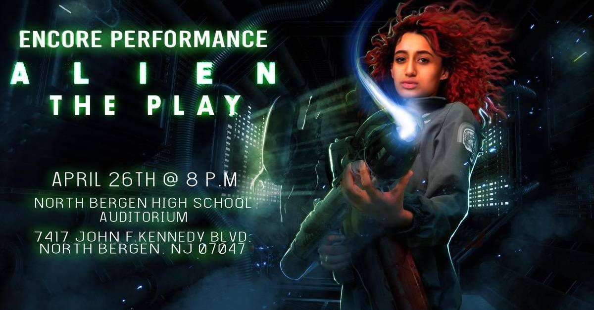 Alien Play Banner - Check Out Our Final Batch of Exclusive High School ALIEN Play Highlights Including Ash Losing His Head!