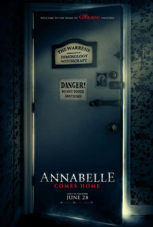 "Annabelle Comes Home 2019 Poster - ""Do Not Touch Anything!"" New Poster for ANNABELLE COMES HOME Warns of Demonic Danger"