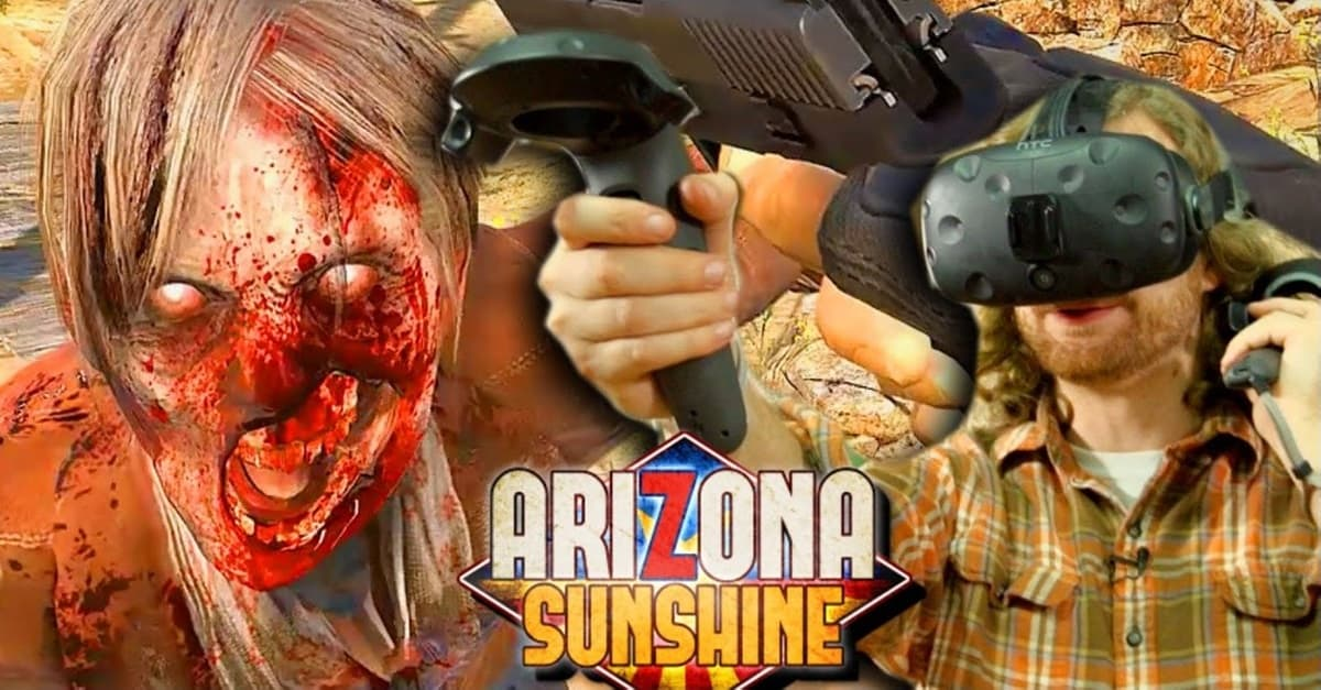 Arizona Sunshine Banner - Immersive VR Experience ARIZONA SUNSHINE: RAMPAGE Infects Orlando This Spring