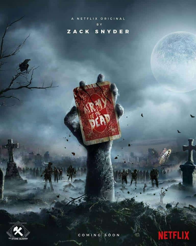 Army of the Dead Poster - Latest Pic from Zack Snyder's Zombie Horror ARMY OF THE DEAD Features Tig Notaro