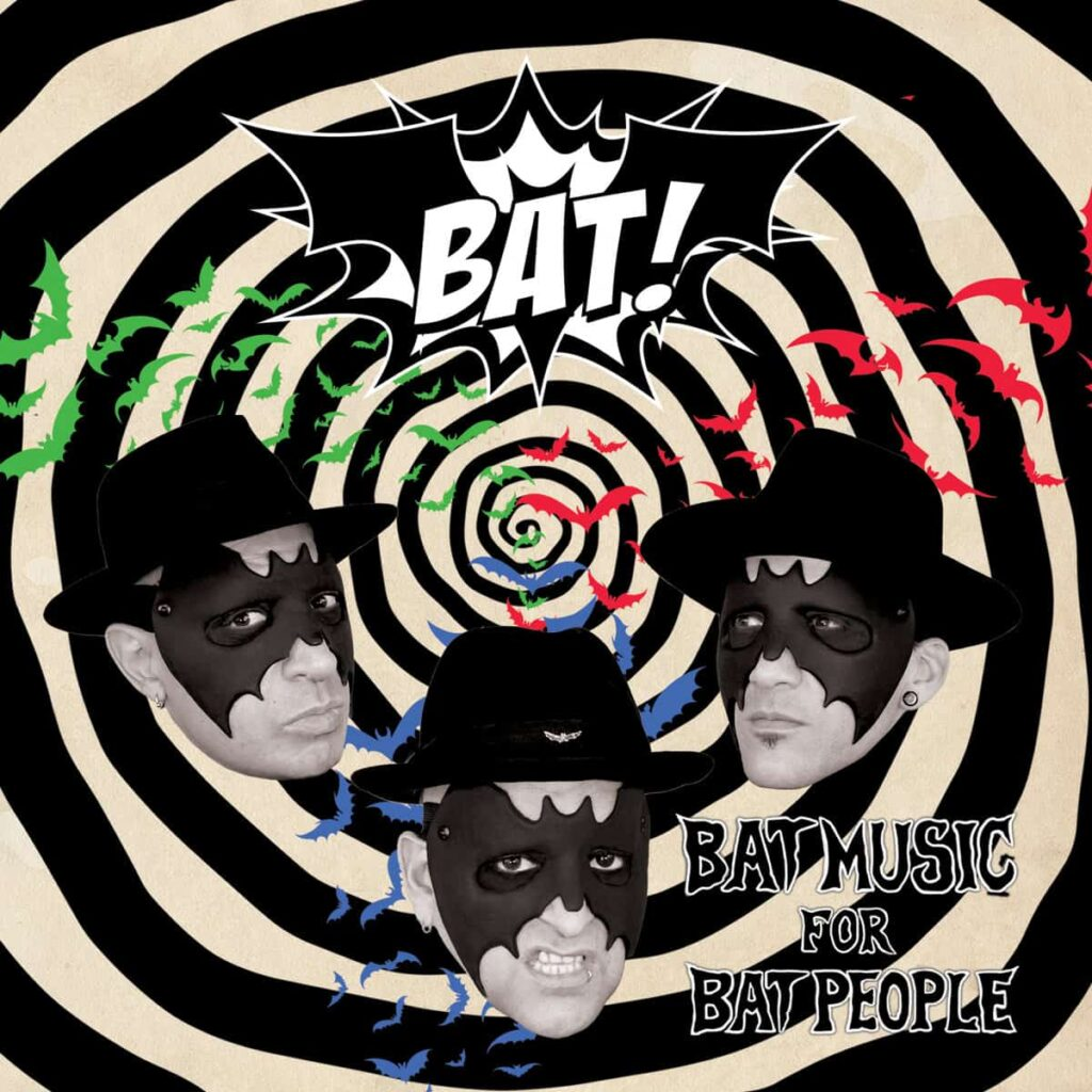 "BatMusicForBatPeople 1024x1024 - Exclusive Music Premiere: Hear ""Revenge of the Batmask"" by Burlesque/Bondage infused BAT!"
