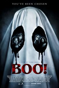 """Boo Poster 204x300 - Exclusive: Creepy Kid Demands """"An Eye for an Eye"""" in Gut-Churning Clip from BOO!"""