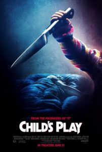 CHILDS PLAY poster 1 202x300 - Latest CHILD'S PLAY Promo is Claymation Gore-Fest TOY MASSACRE by Lee Hardcastle