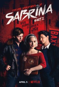 "Chilling Adventures of Sabrina Part 2 poster 205x300 - ""I'd Prefer Less Cannibalism"": Real Priests Watch CHILLING ADVENTURES OF SABRINA"