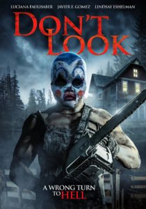 Dont Look Poster 210x300 - DON'T LOOK! There's a Slasher in a Clown Mask Behind You in Our Exclusive Trailer
