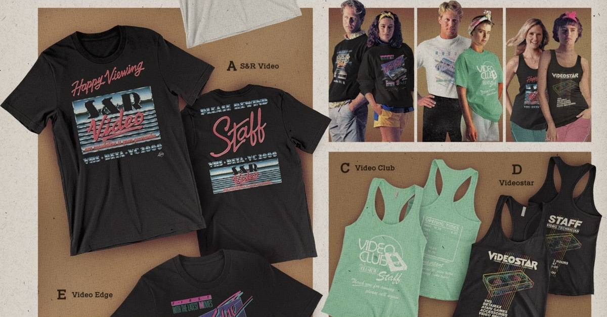 Dude Apparel Banner - DUDE APPAREL Launches the Perfect Retro Gear for Nostalgic Film Fans