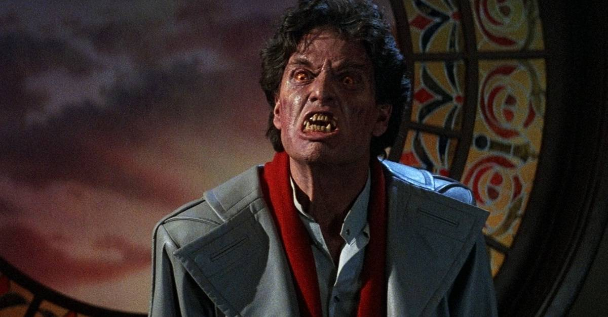Fright Night Banner - Actor Becomes Jerry Dandrige from FRIGHT NIGHT in Time Lapse Footage from MONSTERPALOOZA