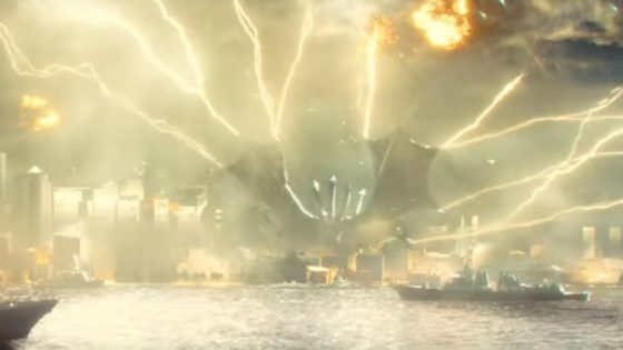 Ghidorah Banner Godzilla King of the Monsters 560x315 - No More US Trailer for GODZILLA: KING OF THE MONSTERS But Japanese Teasers Reveal New Footage